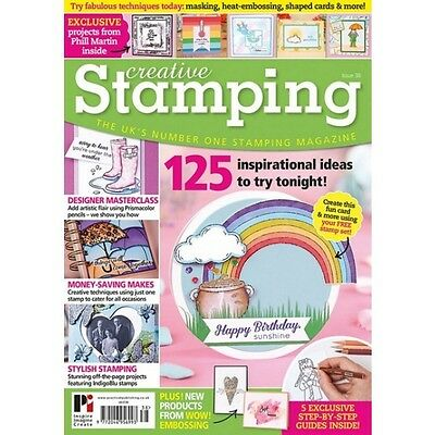 Creative Stamping Issue 38 + Free 38 Stamp Collection Whatever The Weather
