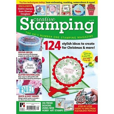 Creative Stamping Issue 35 + Free Traditional Christmas Stamp Collection