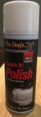 Scented The Dogs Dashboard, Cockpit, Rubber, Plastic and Vinyl Cleaner for Cars