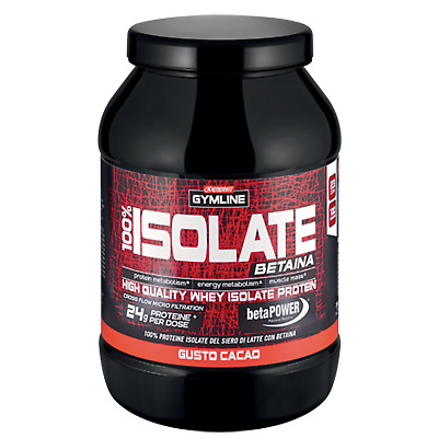 Enervit Gymline 100% Whey Protein Isolate 700 gr Proteine Isolate con Betaina