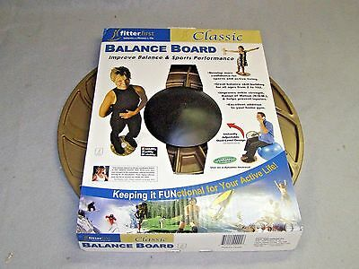 "New Fitter First Classic Balance Wobble Board 16"" Round"