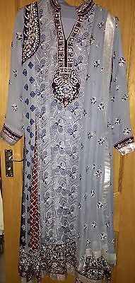 Ramsha Pakistani/ Indian Wedding/ Party Outfit (size M) REDUCED PRICE
