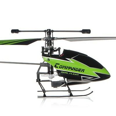 WLtoys V911-1 2.4G 4CH RC Helicopter New Plug Green BNF Only Body