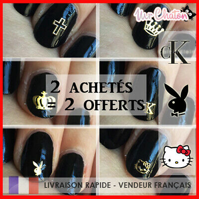 Nail Art Logo - Marque Deco - Ongles Stickers Neufs