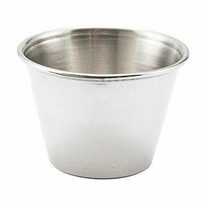 Stainless Steel 2.5 Oz. Sauce Cup (Pack of 12)...NEW