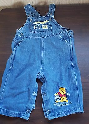 DISNEY BABY Winnie the Pooh Hunny Bee overalls 6-9 months