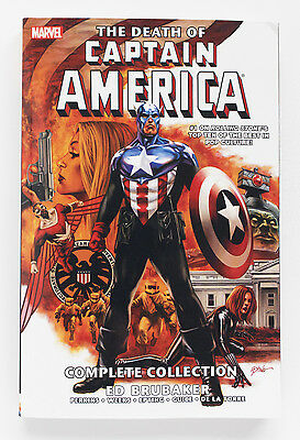 Captain America Death of CA Complete Collection Marvel Graphic Novel Comic Book