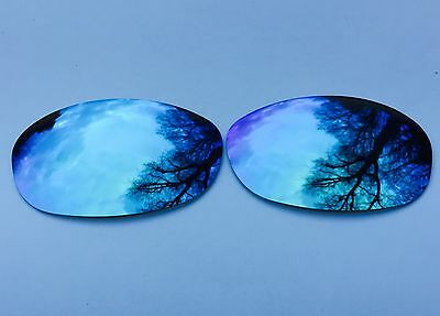 Polarized Ice Blue Mirrored Replacement Oakley Fives 2.0 Lenses