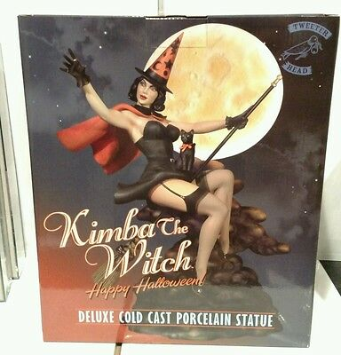 Tweeterhead Kimba The Witch Deluxe Cold Cast Porcalin Statue Mib