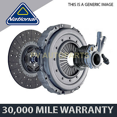 National Clutch Kit 3 Piece For Renault Master 2.8 Dti 1998-2001