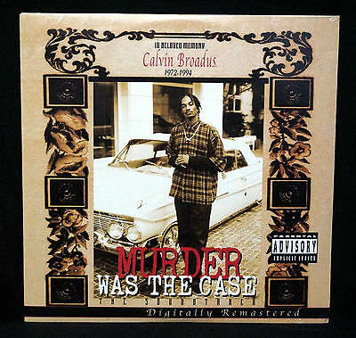 Murder Was The Case Sountrack LP Death Row Records Snoop Dre Ice Cube Dogg Pound