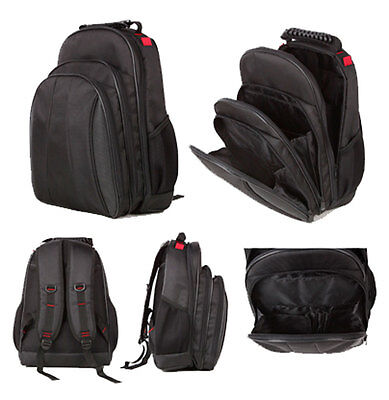 """Business Backpack Holds up to 14"""" inch Laptop lightweight cabin friendly Black"""