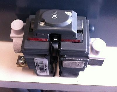 1PC 100 Amp, 2 Pole Pushmatic Circuit Breaker Unique UBIP-2100 100A 2