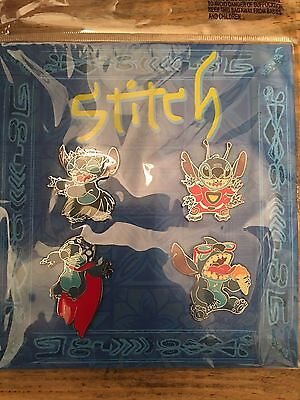 Disney Pins Stitch Booster Set