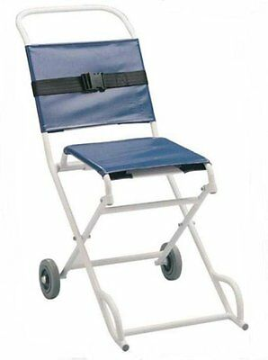 Patterson Medical Folding Ambulance Chair With front and back carrying handles