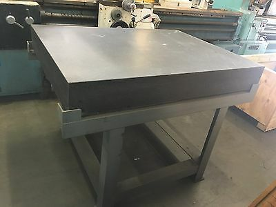 """36"""" x 48"""" x 6"""" GRANITE PLATE WITH STAND"""