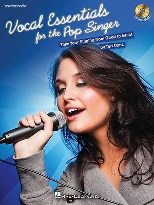 Vocal Essentials for the Pop Singer - Vocal Music Book with CD
