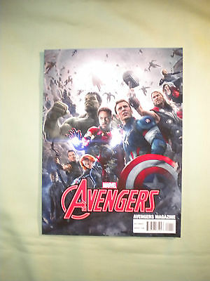 THE AVENGERS: AGE OF ULTRON MAGAZINE #1 Marvel Comics 2015 Movie Book Promo NM