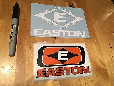 2 OEM Easton Hunting Archery Stickers/Decals Bow Crossbow Whitetail Arrows Deer
