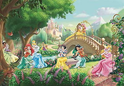 368x254cm Giant Wall mural Wallpaper Princess palace pets disney chlildrens room