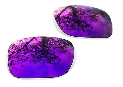 Fit&See Polarized Purple Replacement Lenses for Oakley Holbrook