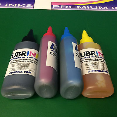 4x100ml Lubrink Printer Refill INK Bottles for Canon Pixma IP2850 MX495 545/546