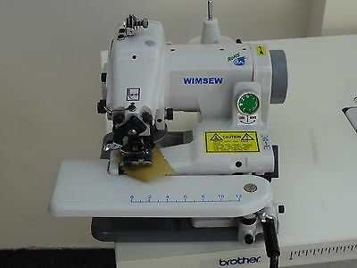 Wimsew Industrial Hemmer, Hemming, Blind Stitch Portable Sewing Machine CM500