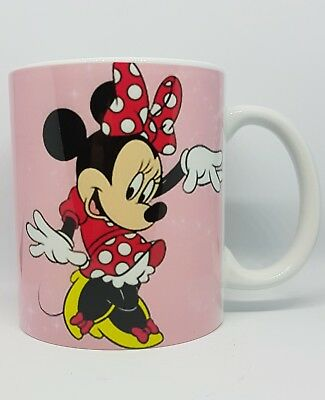 Minnie Mouse Personalised Mug -Have Any Name/Wording- Ideal Gift