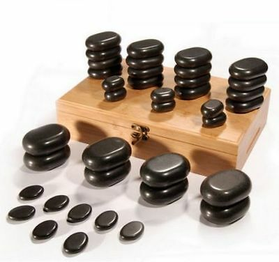 Hot Stone set of 36 pieces Massage Therapy Beauty Salon