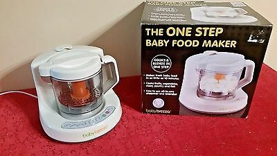 Babybreeza One Step Baby Food Maker Steamer Blender Brz9043 Tested