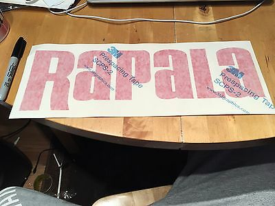 Large OEM Rapala Sticker/Decal Line Fisherman Angling Boat Tackle Box Lure Bait