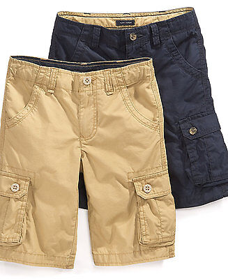 New Tommy Hilfiger Back Country Cargo Shorts Size 8, 10, 12, 14, 16, 18, and 20
