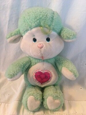 Vintage 1984 Care Bears Cousin GENTLE HEART LAMB Plush Toy Doll