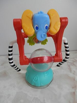 Peradix High Chair Spinning Ferris Wheel Suction Baby Developmental Toy Frog