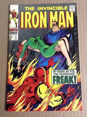 "Iron Man #3 High Grade CGC Ready ""BEAUTY"" ""Free Shipping w/Buy It Now"""