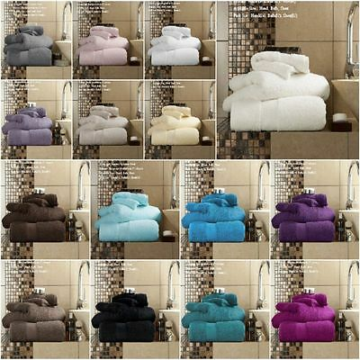 100% Egyptian Cotton Miami 650GSM Super Soft Extra Absorbent Towels Bath Sheets