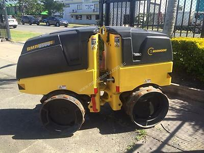 2013 Used Bomag Bmp8500 Tandem Padfoot Compactor