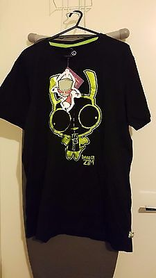 INVADER ZIM TSHIRTS x 5 NEVER WORN TAGS STILL ATTACHED! NICKELODEON FREE POST!