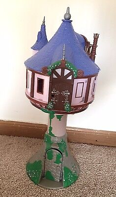 Disney Parks Exclusive Tangled Tower Rapunzel Castle Only 17""