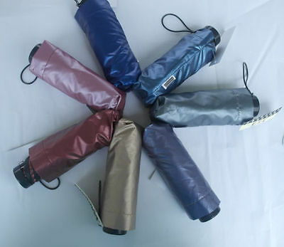New Compact Mini Anti UV 5 Folding Sun Parasol and Rain Umbrella Bumbershoot