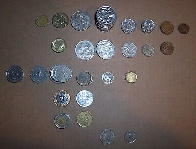 Exchange Coin Lot Australia New Zealand Hong Kong Dollars