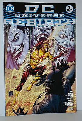 DC Universe Rebirth #1 (Ethan Van Sciver 4th Print Variant Cover) 2016 One-Shot