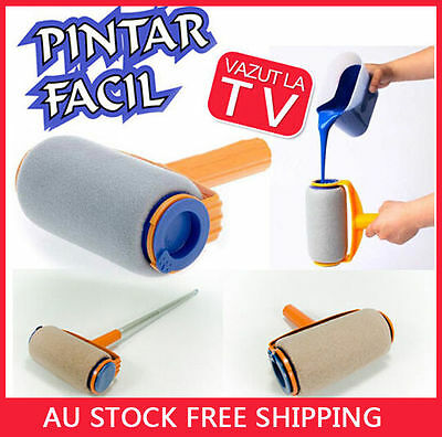 Paint Roller Kit Painting Runner Pintar Facil Decor Professional As Seen On TV