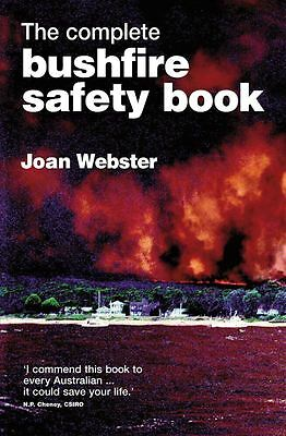 The Complete Bushfire Safety Book by Joan Webster - Paperback - NEW - Book