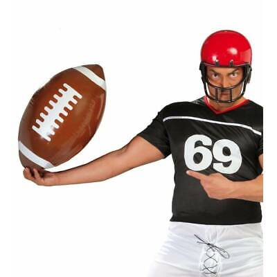 Inflatable Baseball Bat 85cm USA American Sports Theme Fancy Dress Party Prop