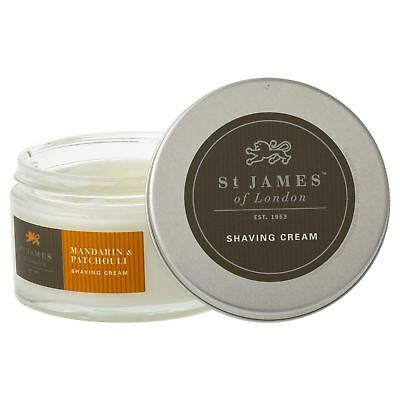 St James of London Mandarin & Patchouli Shaving Cream