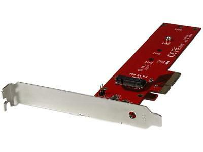 StarTech PEX4M2E1 M.2 Adapter - x4 PCIe 3.0 NVMe - Low Profile and Full Profile