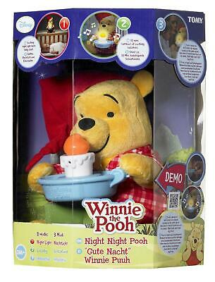 Winnie The Pooh Night Night Pooh Plush Soft Toy Nightlight - T71964 - NEW