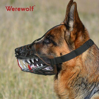 Werewolf Halloween Adjustable Safety Strong Material Bite Proof Stop Chewing Dog