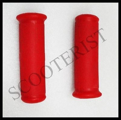 Vespa Handle Rubber Grips Set Red Vba Vbb Super Sprint 150 125  GS SS PX LML